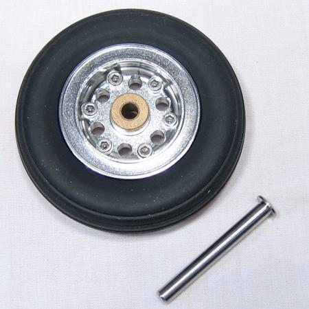 """Intairco Nose Wheel - 2 5/8"""" (66mm)-0"""