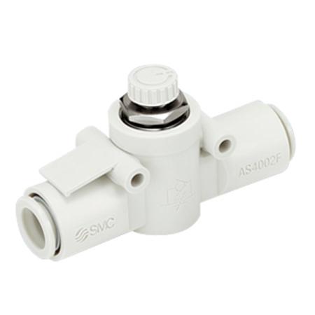 SMC Gas Flow Throttle 4mm
