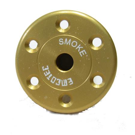 "Emcotec Fueling Valve ""Smoke"" - Gold-0"