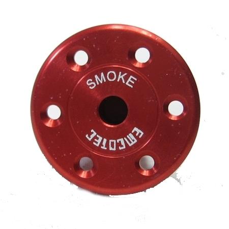 """Emcotec Fueling Valve """"Smoke"""" - Red-0"""