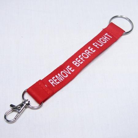 Remove Before Flight Clip Key Chain-0