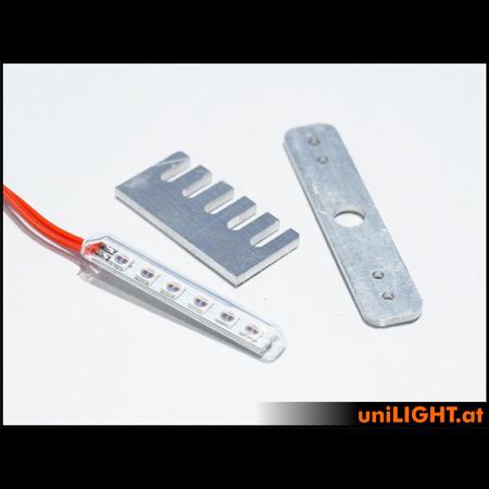 UniLight 5mm Light Bar 12Wx2 Green-0