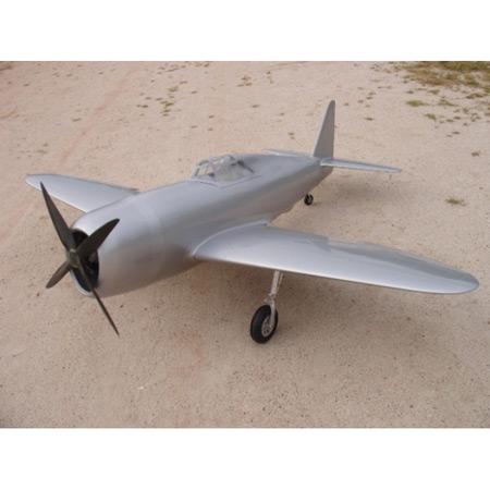 P-47 Thunderbolt All Silver