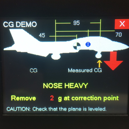 Xicoy Digital Weight and Balance CG Meter-0