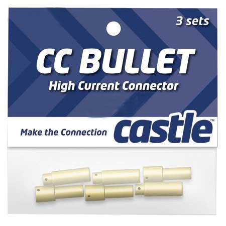 5.5mm High Current CC Bullet Connector Set-0