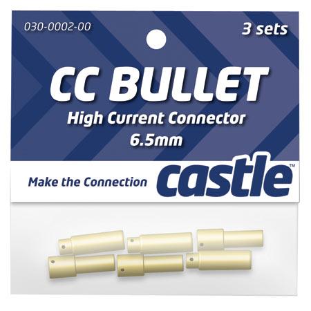 6.5mm High Current CC Bullet Connector Set-0