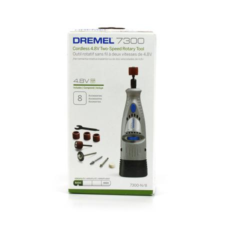 Dremel 4.8V NiCd MiniMite Cordless Rotary, 2Speed, 8 Acc-0