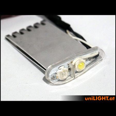 UniLight 16Wx2 Navigation & Strobe, 11mm, T-Fuse - Green/White-84708