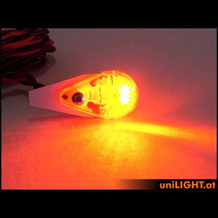 UniLight 10Wx2 Navigation & Strobe, 16mm - Red/White-85341