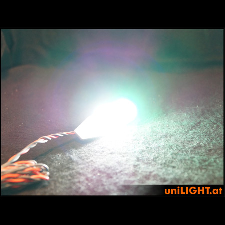 UniLight 24mm, 12Wx2 Navigation & Strobe, T-Fuse - Red/White-84866