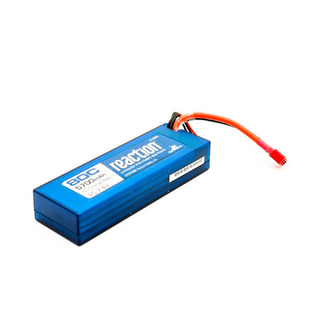 Reaction 7.4V 5700mAh 2S 80C Lipo Hard Case Deans-0