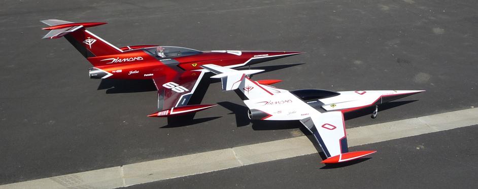 Aviation Design Mini Diamond ARF Racing - Green Sport Jet-86806