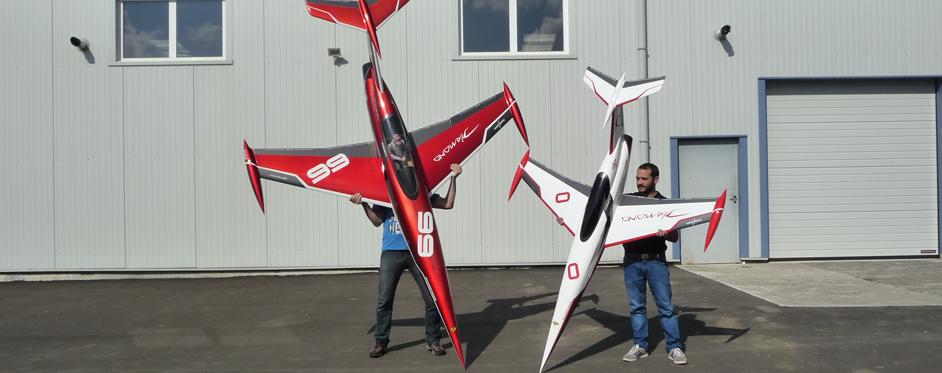 Aviation Design Mini Diamond ARF Racing - White Sport Jet-86812