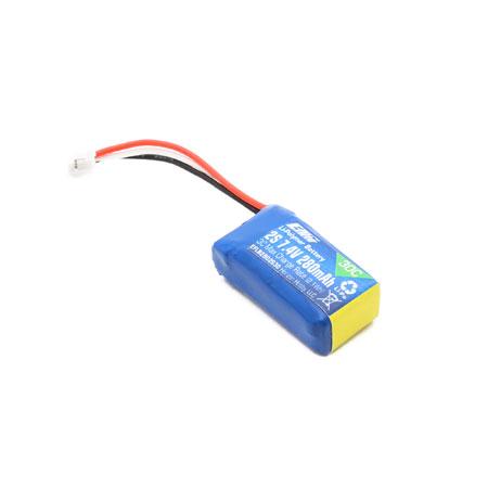 280mAh 2S 7.4V 30C Li-Po Battery-0