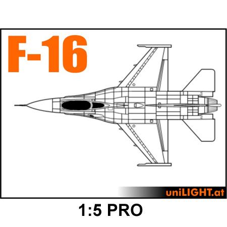 UniLight BND F-16 1:5 PRO-0