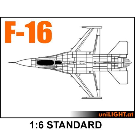 UniLight BND F-16 1:6 Standard-0