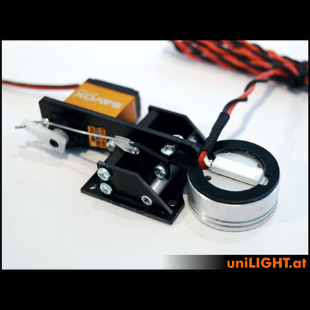 UniLight 35mm Drop-Out Spotlight 8Wx2, T-Fuse - White-85487