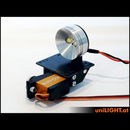 UniLight 30mm Drop-Out Spotlight 8Wx2, T-Fuse - White-0