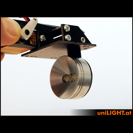 UniLight 35mm Drop-Out Spotlight 8Wx2, T-Fuse - White-85486