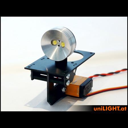 UniLight 35mm Drop-Out Spotlight 8Wx2, T-Fuse - White-0