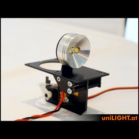 UniLight 35mm Drop-Out Spotlight 8Wx2, T-Fuse - White-85488