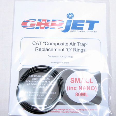 GBR Jet CAT Replacement O-Ring - Small-0