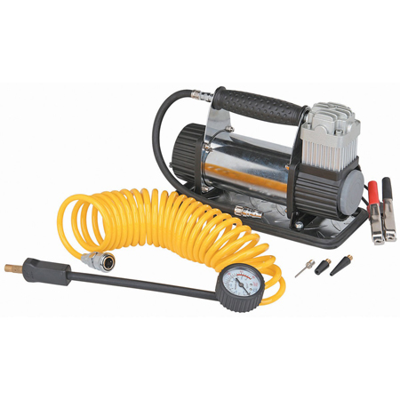12 Volt, 150 PSI High Volume Air Compressor