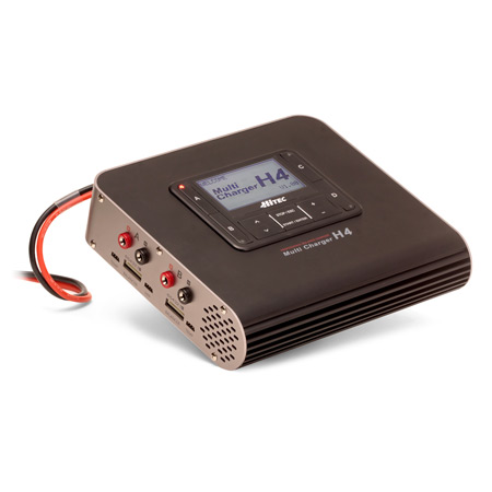 H4 DC 4 Port Smart Battery Charger