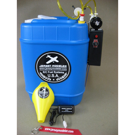 5 Gallon Jersey Fueler Deluxe System w/ESC-0