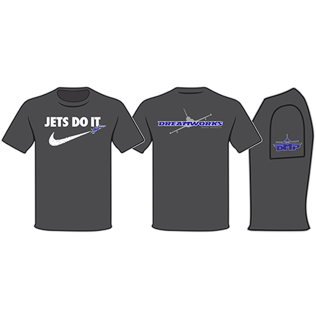 Black Jets Do It Tee Shirt Small-0