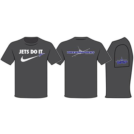 Black Jets Do It Tee Shirt