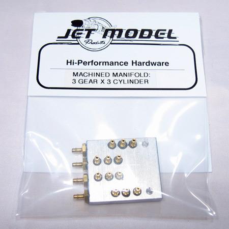 JMP Gear/Door Airline Manifold - 3x3-0