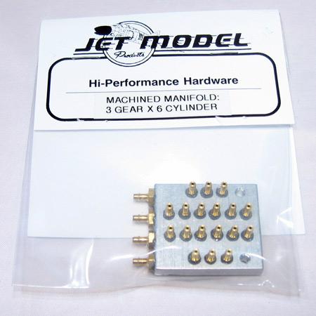 JMP Gear/Door Airline Manifold - 3x6-0