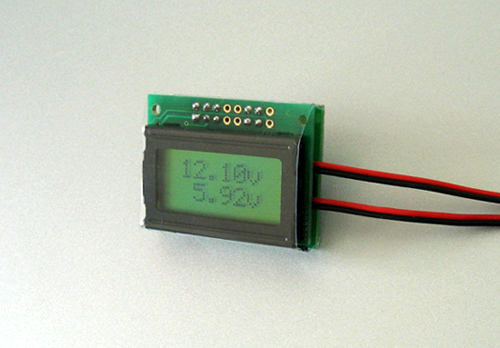 Two Channel LCD Voltmeter-79546