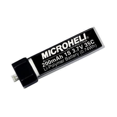 1S 3.7V 200mAh 35C Li-Po Battery