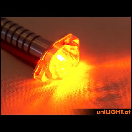 UniLight 8Wx2 Flashlight Utra-Power, 8mm - Red-84632