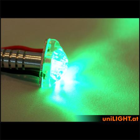 UniLight 4W Position Light, 8mm - Green-84655