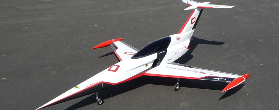 Aviation Design Mini Diamond ARF Racing - White Sport Jet-86811