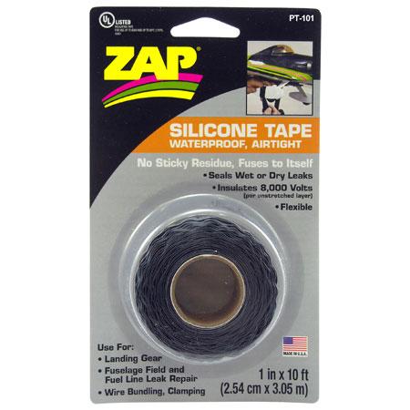 Zap Silicone Tape 1x10-0