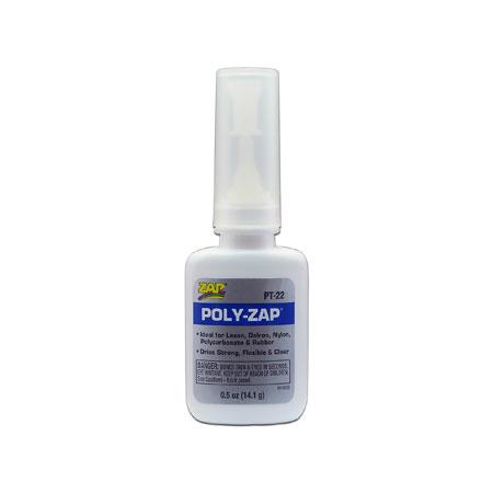 Poly ZAP Glue, 1/2 oz-0