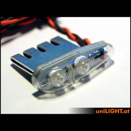 UniLight 4Wx2 Navigation Light, 11mm - Green-84687