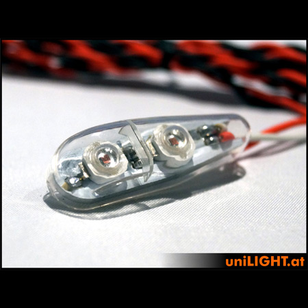 UniLight 8Wx2 Flashlight, 11mm, SHORT, T-Fuse - White-84667
