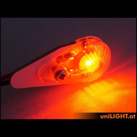 UniLight 4W Position-/Navigation Light 16mm - Red-84721