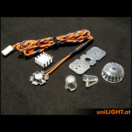 UniLight 8W Universal & Round Light - White-0