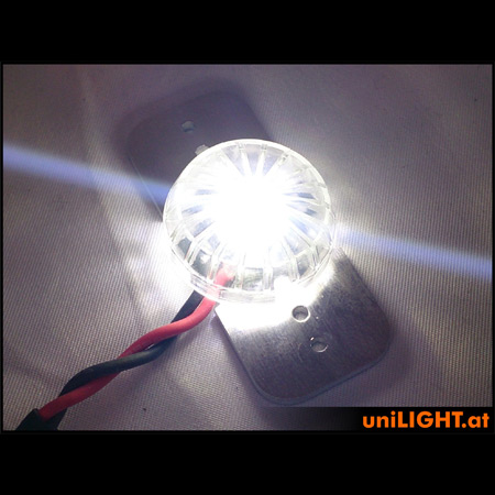 UniLight 8W Universal & Round Light - White-84620