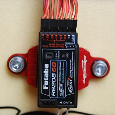 SECRAFT Receiver Bed - Red-81807