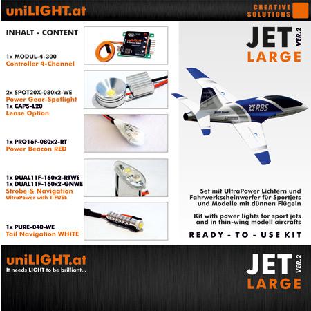 UniLight JET-Large Lighting Set-0