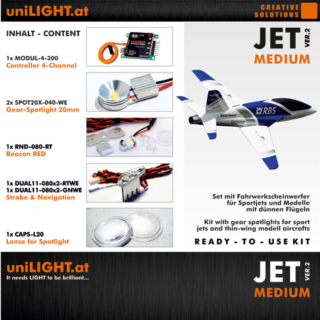 UniLight JET-Medium Lighting Set-0