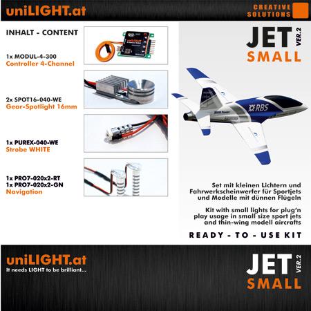 UniLight JET-Small Lighting Set-0