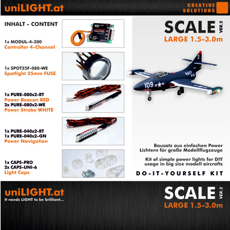 UniLight Scale-Large Lighting Set 24mm-0